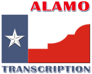 Alamo Transcription